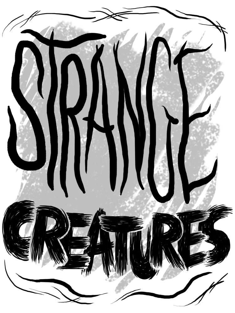 Strange Creatures zine cover by Marc Palm