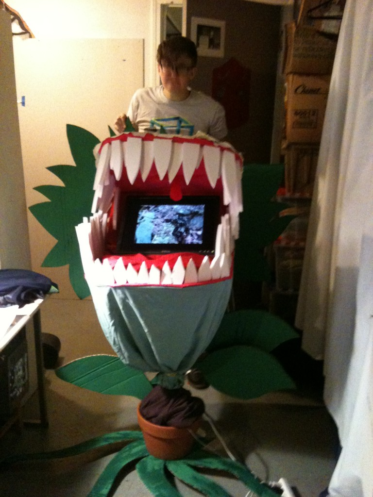 Audrey 2: The Little Shop of Horrors Install at NWFF for Local Sightings