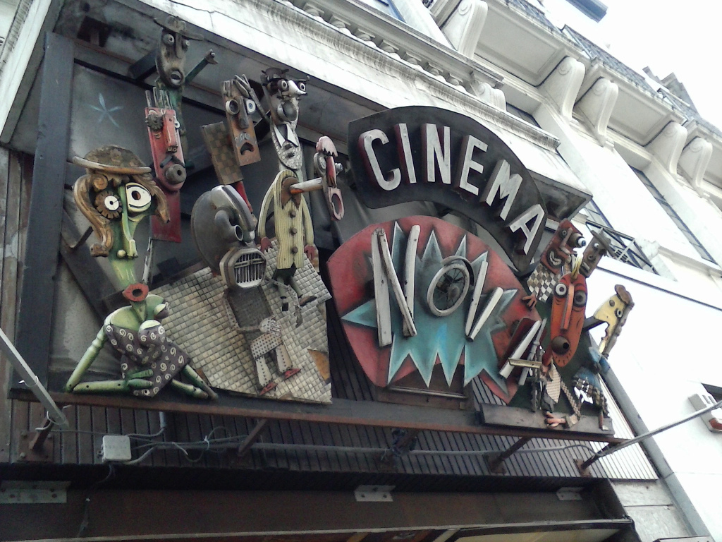 Cinema Nova, Brussels, Belgium, host of a Strange Creatures screening in April 2014